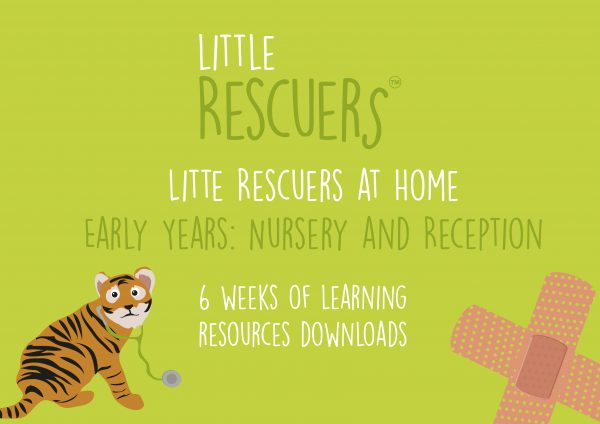 Little Rescuers - at Hme- Early years learning resources