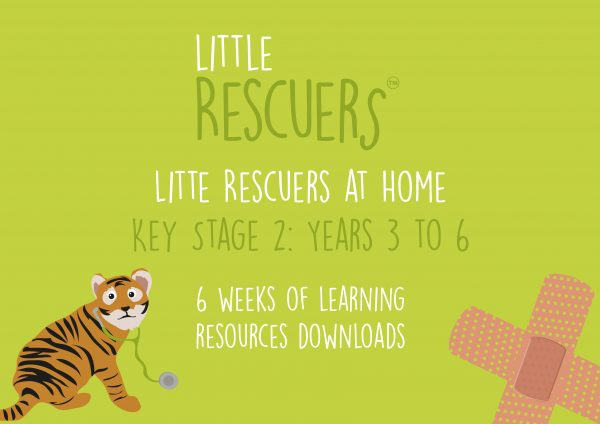 Little Rescuers at Home - learning resources for key stage 2