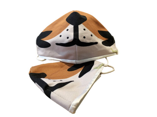 Tumbles the Tiger Face Mask for Kids